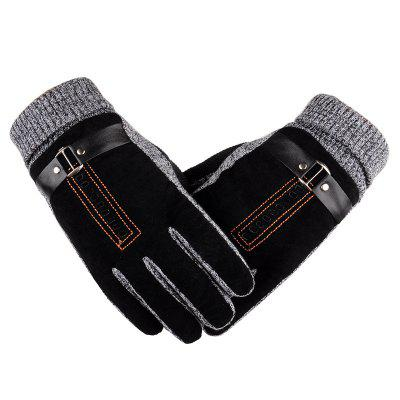 Winter Thickening Warm Men's Gloves