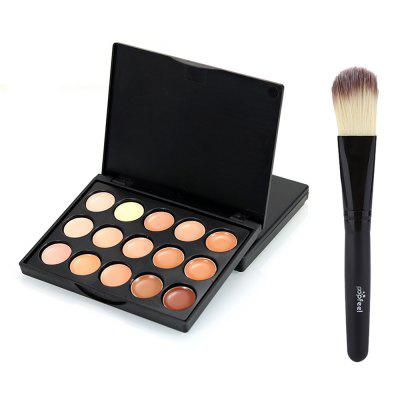 Popfeel 15-color Mini Concealer with Brush