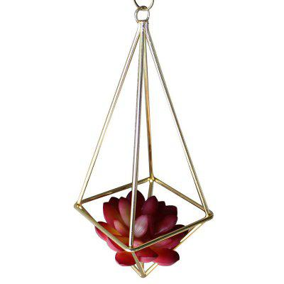 Oxygen-free Welding Iron Geometry Flower Stand for Decoration