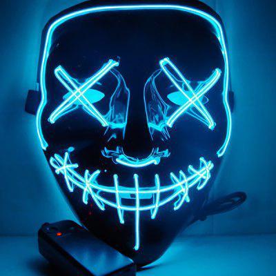 LED Light up Masks Cosplay Costume Supplies