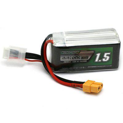 AIRTONK 823562 1500mAh 14.8V 4S 30C LiPo Battery XT60 Plug for RC Drone Airplane Robot Accessory