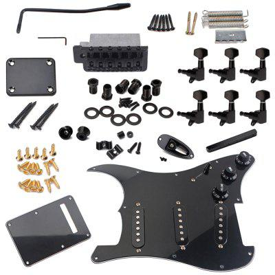 Pickups Loaded Prewired Pickguards for 11 Hole Electric Guitar Set