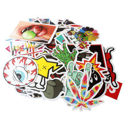 General Stickers with Different Patterns 100pcs