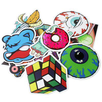 Diamond Series Stickers with Different Patterns 100pcs