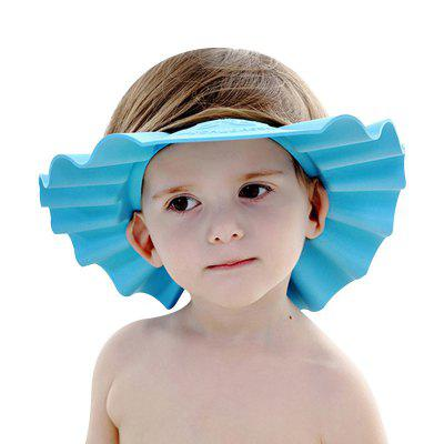 Adjustable Protective Shield Baby Shower Bathing Shampooing Cap