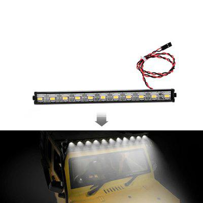 Metal Roof Lamp LED 150mm Light Bar for 1/10 RC Crawler Traxxas HSP Redcat SCX10 RC4WD D90 RC Car
