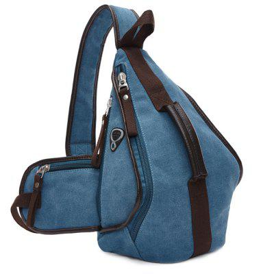 ZUOLUODUO 8510 Fashionable Triangle Chest Bag for Women