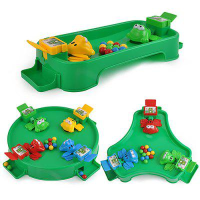 Small Frog Eating Bead Leisure Table Game PuzzleToy