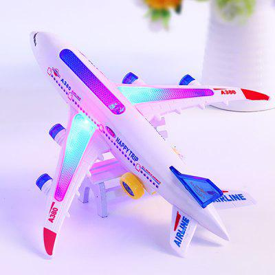 Electric Light Music Plane Flash Universal Aircraft Toy