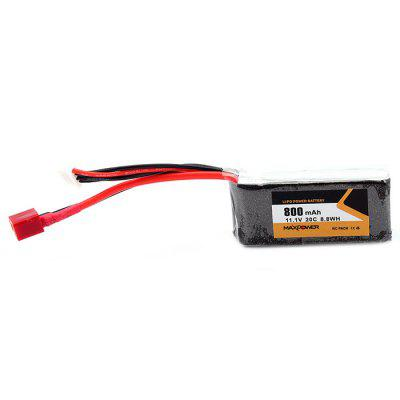 11.1V 800mAh 3S 20C LiPo Battery for RC Drone