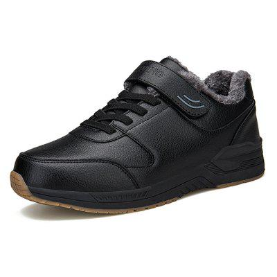 Heren Sneakers Geborsteld Warm Winter Casual Schoenen