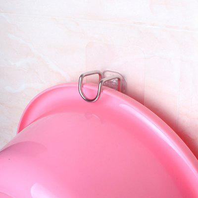 Nail-free Stainless Steel Washbasin Frame Hook