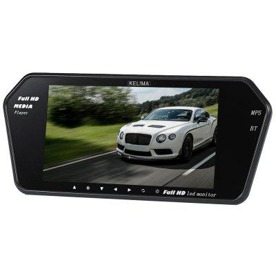 KELIMA 7 inch Bluetooth MP5 Car Display Infrared Night Vision License Plate Camera