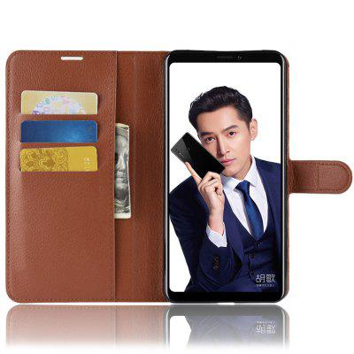 Naxtop Multifonction Mode Cuir Couvre Etui pour HUAWEI Honor Note 10