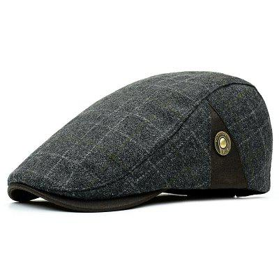 Man Casual Leisure Hat Beret
