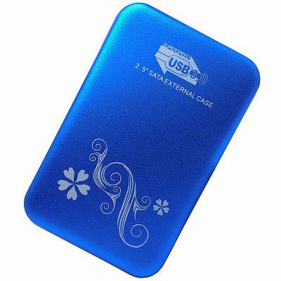 "2512V3 2.5"" SATA Solid State and Mechanical External Hard Drive Box USB3.0 / Aluminum Alloy"