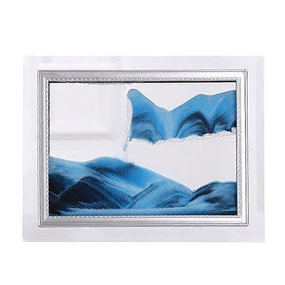 Creative Quicksand Flow Landscape Painting Birthday Gifts Office Home Decorations