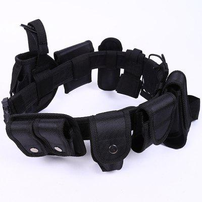 Multi-function Ten-piece Military Enthusiasts Tactical Outdoor Training Duty Belt