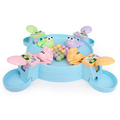 Feeding Small Frog Board Parent-child Games Four People Model