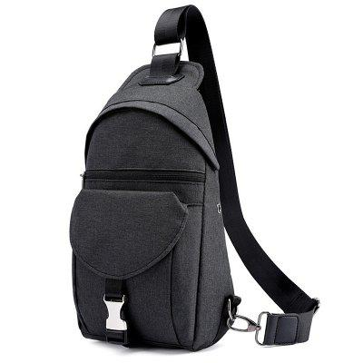 Yuchang 812 new men's casual chest bag multi-function outdoor riding bag Korean version of the wild single shoulder Messenger bag