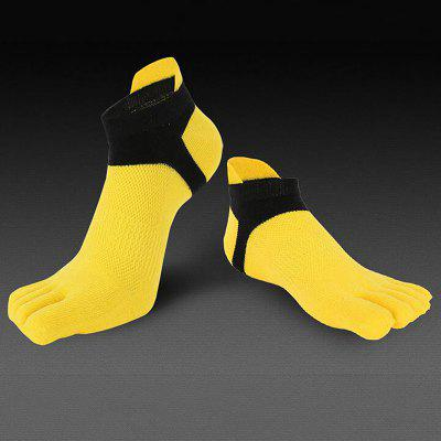 Socks Cotton Breathable Five Toe Men Sports