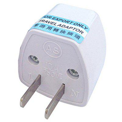 Arrival US/AU/UK/EU Plug to US Plug Home Travel Adapter