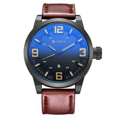 Homens Grande Mostrador Digital Casual Quartz Watch