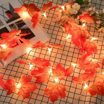 10 LED Maple Leaf Decoration String Lamp