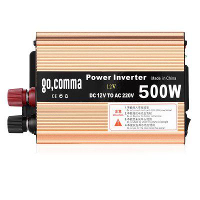 gocomma 500W Power Inverter DC 12V to AC 220V for Car