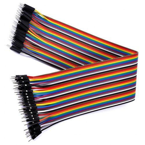 DIY Rainbow Adapter Cable 40 Pin DuPont Cable 30cm