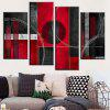 Red Abstract Painting - MULTI