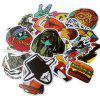 KT Series Stickers with Different Patterns 100pcs - MULTI