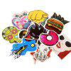 Sunglasses Stickers with Different Patterns 100pcs - MULTI