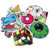 Diamond Series Stickers with Different Patterns 100pcs - MULTI