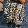 Mountaineering Creative Camping Outdoor Hand-woven Survival Bracelet - MULTI-A