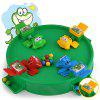 Small Frog Eating Bead Leisure Table Game PuzzleToy - SEA GREEN