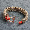 Personality Creative Men Survival Bracelet - MULTI-B