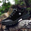 Men's Sneakers Fashion Durable Leisure Comfortable Casual Shoes - BLACK