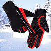 Unisex Touch Screen Gloves Outdoor Windproof - RED