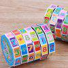 Children Arithmetic Toy Cylindrical Numbers Magic Cube Puzzle Game Gift - MULTI