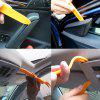 Car Audio Smashing Door Panel Balanceo herramienta 4pcs - MANGO NARANJA