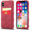 All-inclusive Anti-fall Soft Phone Case for iPhone XS - PALE VIOLET RED
