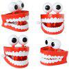 Christmas on the Chain Teeth Halloween Dental Toys for Kids - LAVA RED