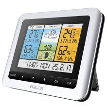 BALDR V5 Special Large Screen Weather Station Multi-Function Alarm Clock Time Date Forecast Display