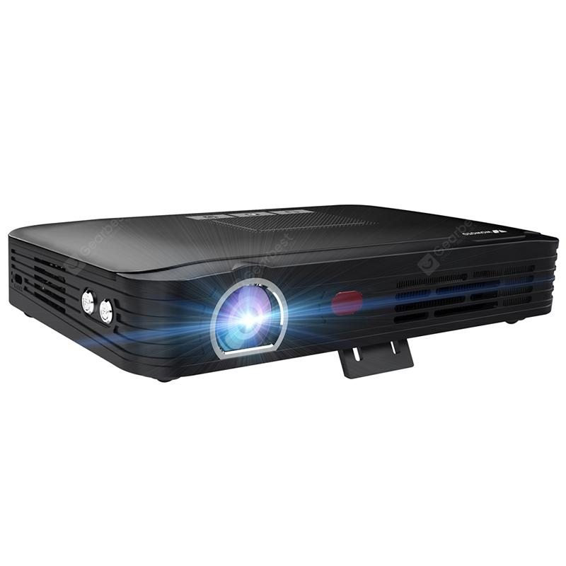 3D smart pico projector office / teaching / home theater is in control of T8E - BLACK