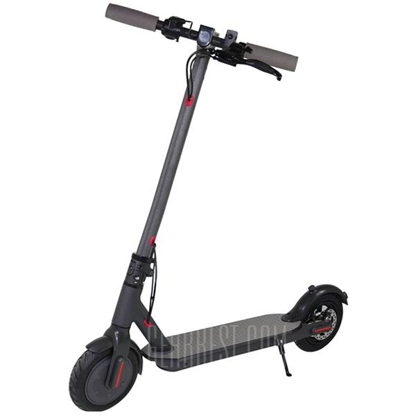 Original Alfawise M1 Folding Electric Scooter - BLACK 7.8AH LG BATTERY