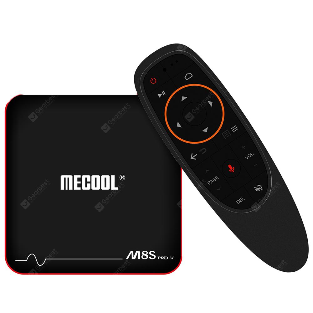 Mecool M8S PRO W 2.4G Voice Control with Andriod OS Support TV Box