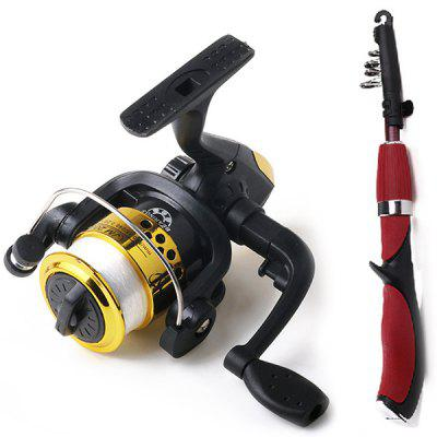 HENGJIA Fishing Rod and Fish Reel for freshwater Angling