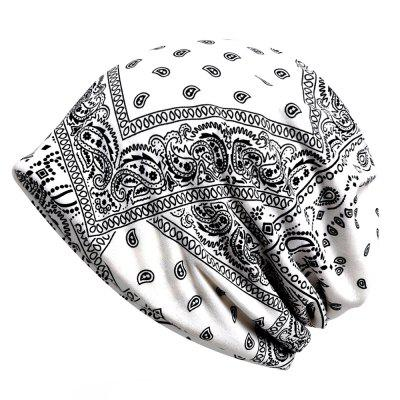 Flower Pattern Fashion Dual purpose Scarf Hat