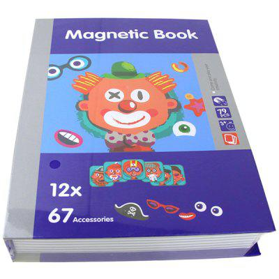 PZYY6807 - 1 Face Makeup Magnetic Box Early Childhood Education Toy